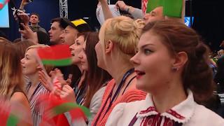 Білоруси співають пісню своїх конкурсантів на «Євробаченні»