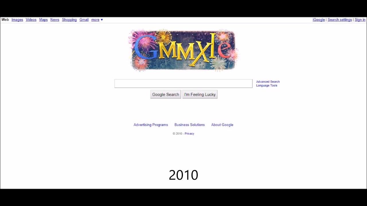 Best Kitchen Gallery: Google Homepage Timeline Screenshots 1998 To 2017 Youtube of Google Search Homepage Website on rachelxblog.com
