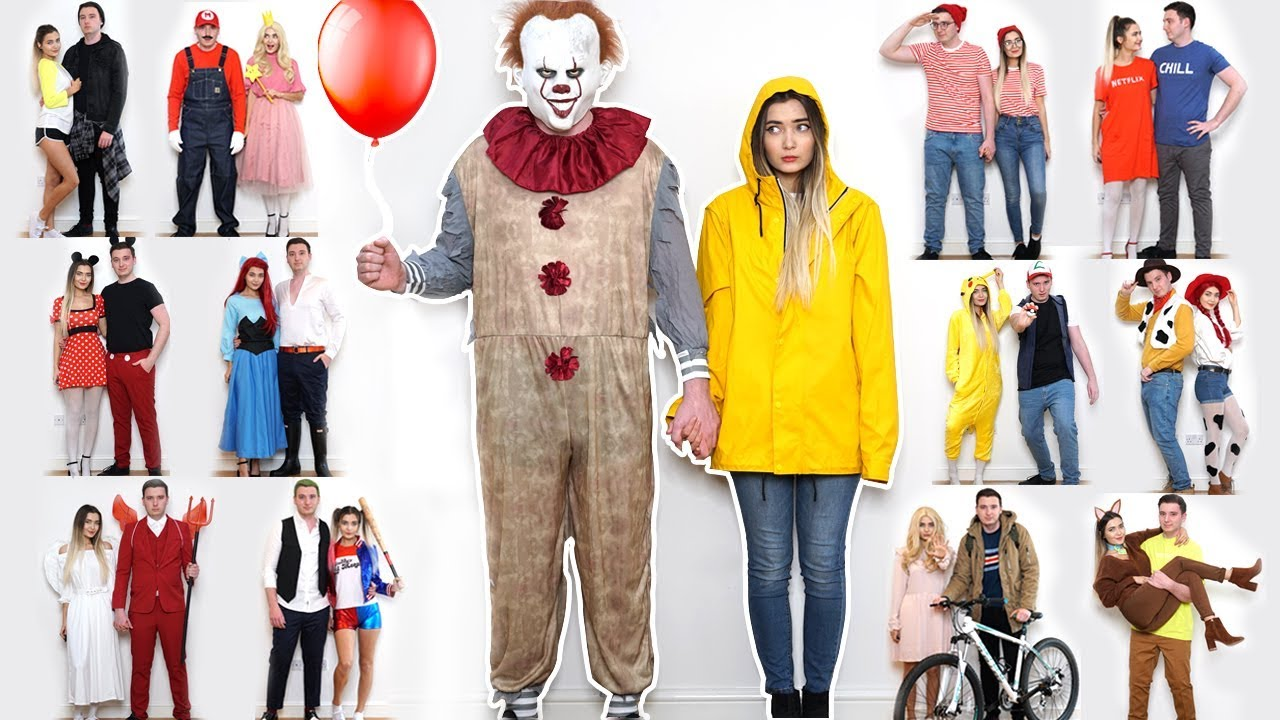 15 DIY COUPLES HALLOWEEN COSTUME IDEAS!