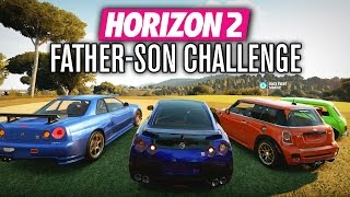 Forza Horizon 2 | FATHER-SON CHALLENGE!!