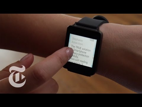 LG G Watch Review: Smartwatch of the Distant Future | Molly Wood | The New York Times