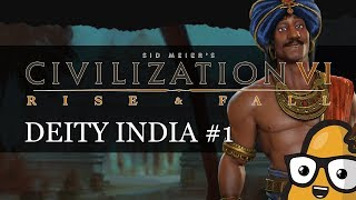 Video #1 Chandragupta Deity India Civ 6 Rise & Fall Gameplay, Let's Play India download MP3, 3GP, MP4, WEBM, AVI, FLV Maret 2018