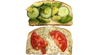 Easy & Delicious Veggie Avocado Sandwich Recipe