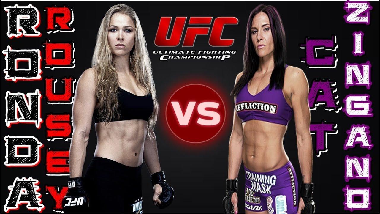 Ronda Rousey Vs Cat Zingano Full Fight