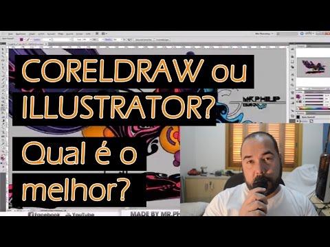 Coreldraw ou Illustrator ? Qual é o melhor?