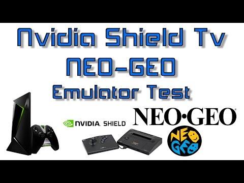 Nvidia Shield Tv NEO-GEO Emulator Test