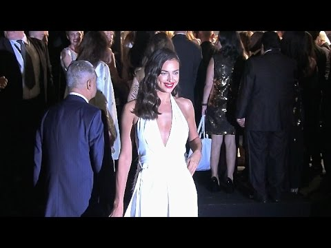 Irina Shayk, Toni Garrn, Adriana Lima, Allessandra Ambrosio and more models at Chopard Party