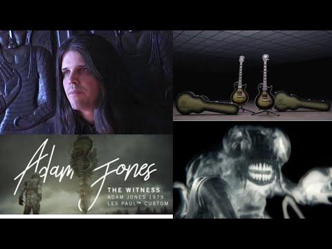 TOOL's Adam Jones debuts 1979 Les Paul Custom Signature guitar w/ new song The Witness