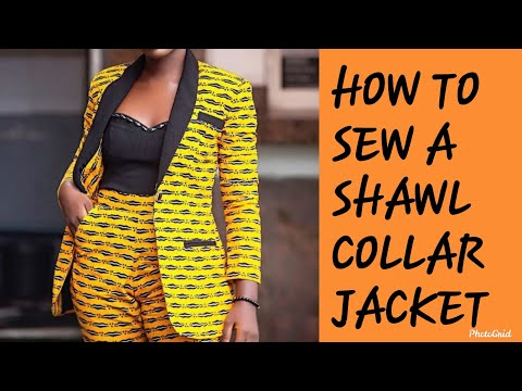 How To Sew A Shawl Collar Jacket (Easy Guide)