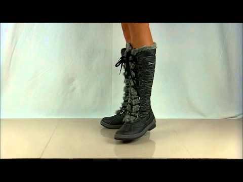 Flat Knee-High Snow Boot