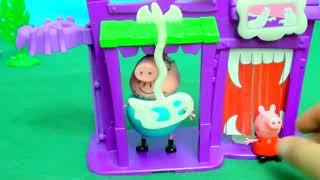 Мультфильм игрушками Свинка Пиги Pig Хэллоуин скоро