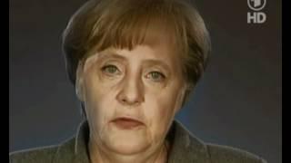 Repeat youtube video Enttarnt! Angela Merkel ist ein Reptoid!Guckt euch nur ihre Reptilianer Augen an!