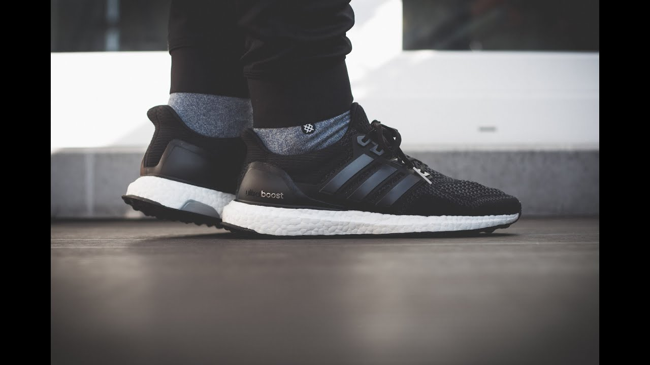 adidas boost on feet
