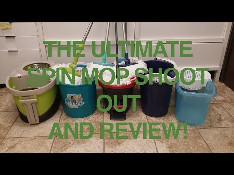 Spin Mop Review And Spin Mop Comparison - Watch This Before You Buy!