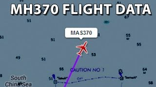 Malaysia Airlines MH370 missing. Flight data, sea depth data and passenger list