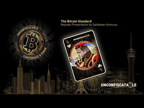 The Bitcoin Standard Presented By Saifedean Ammous At Unconfiscatable 2020.