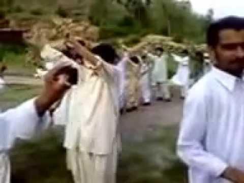 Congr - Pakistani Wedding Groom bride Dance - Hazara