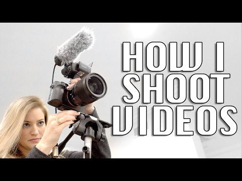 How I Shoot YouTube Videos