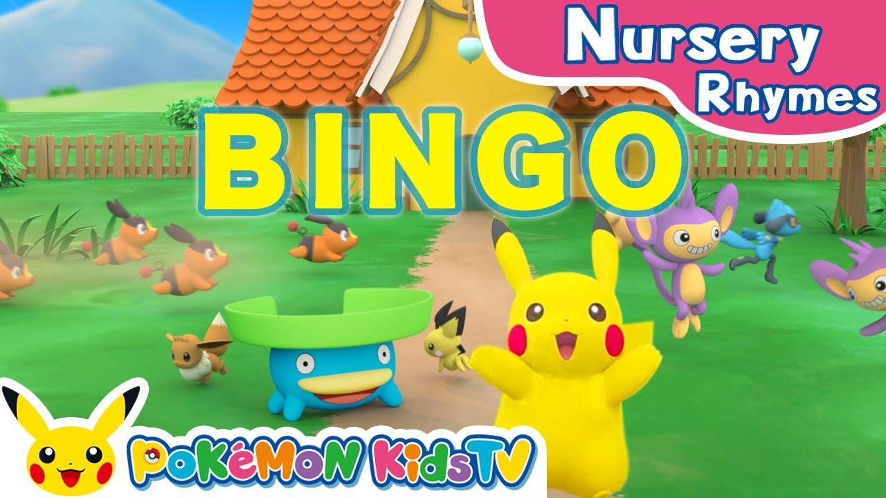 Pokémon Spelling Song (BINGO) | Nursery Rhyme | Kids Song | Pokémon Kids TV
