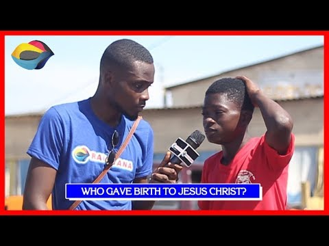Who Gave Birth To JESUS CHRIST?  Street Quiz  Funny s  Funny African s  African Comedy