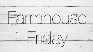 Farm House Friday// diy dollar tree farmhouse decor