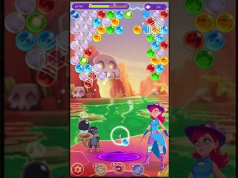Bubble Witch Saga 3 - Level 145 - No Boosters