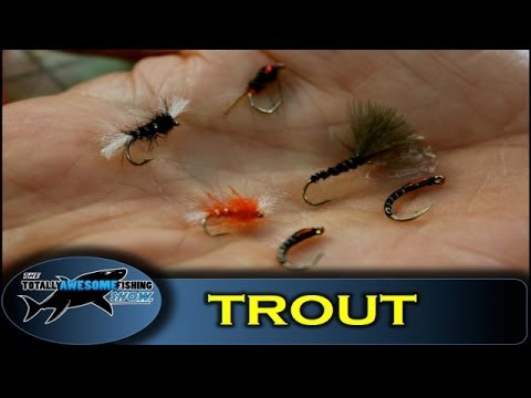 How to catch Reservoir Trout on Buzzers - The Totally Awesome Fishing Show