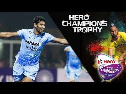 Belgium vs India - Men's Hockey Champions Trophy 2014 India QF4 [11/12/2014]