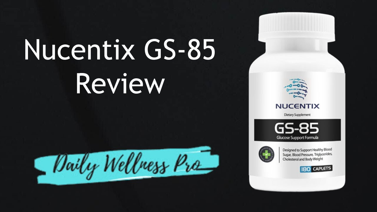 Nucentix GS-85 Reviews - Does It Really Work? - YouTube