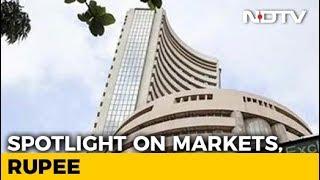 Sensex Falls Over 100 Points Amid Volatile Trade