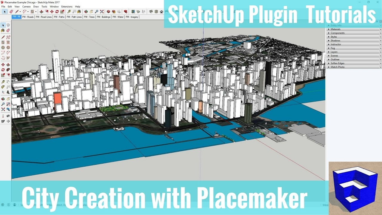 Placemaker Tutorials - The SketchUp Essentials