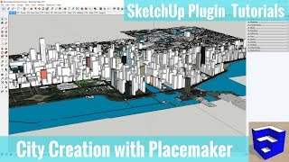 Quickly Model a City in SketchUp with Placemaker