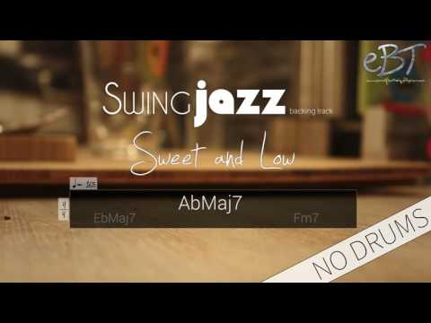 Swing Jazz Backing Track in C Minor | 165 bpm [NO DRUMS]