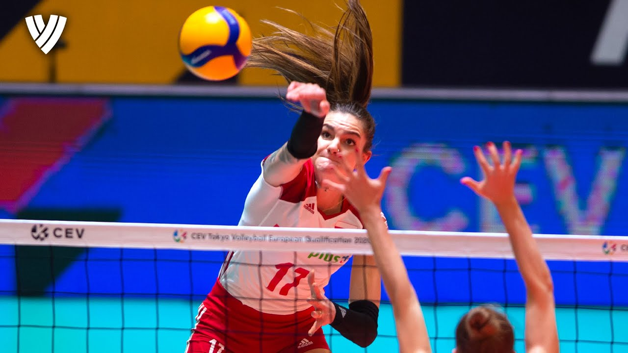 Polish Power Player: Malwina Smarzek 💥  | Spike Height: 318cm | Highlights Volleyball