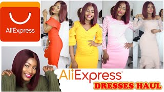 ALIEXPRESS HAUL: AFFORDABLE CLASSIC ALIEXPRESS DRESSES| #Aliexpress @HettyAmens