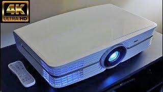 Best 4K Laser Smart TV Home Projector Top 7 2020 Best Short throw Projector