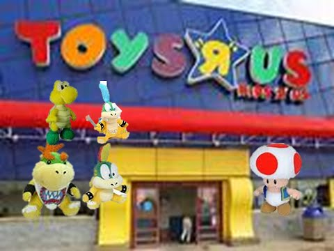 Nn1121 movie bowser jr goes to toys r us youtube for Cuisinette toys r us