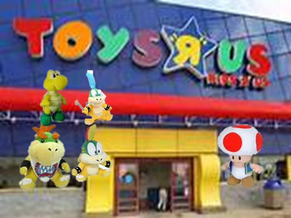 Toys R Us Küchengeräte Nn1121 Movie Bowser Junior Goes To Toys R Us - Youtube