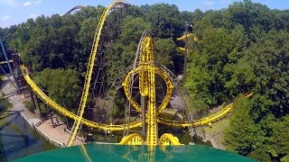 Loch Ness Monster front seat on-ride HD POV @60fps Busch Gardens Williamsburg thumbnail