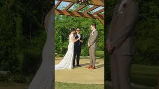 Kevin & Melissa Wedding Vows at The Barn at Sycamore Farms - May 12, 2018