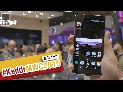 LG G Flex 2 - первый взгляд на смартфон - MWC 2015 - Keddr.com