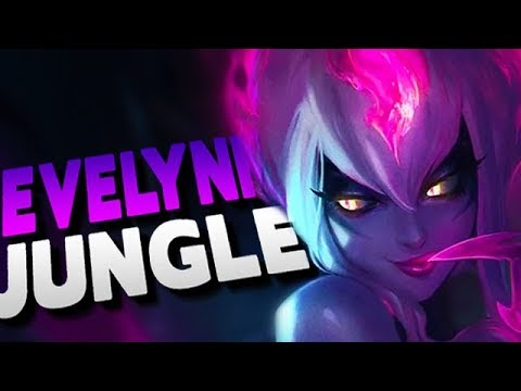 THE BEST ASSASSIN IN THE GAME! ONE SHOT FROM STEALTH, DISGUSTING! Evelynn Jungle Gameplay