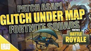 Fortnite Unter der Karte GLITCH! || Bitte Patch ASAP || Fortnite Battle Royale