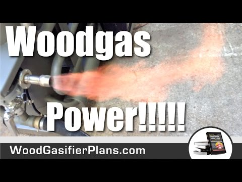 #1 Wood Gas Generator. Ultimate Wood Gasifier Plans. Free Fuel for Life.