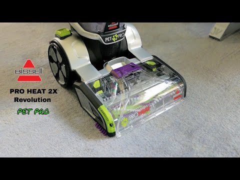 Bissell ProHeat 2X Revolution Pet Pro - Unbox & Review