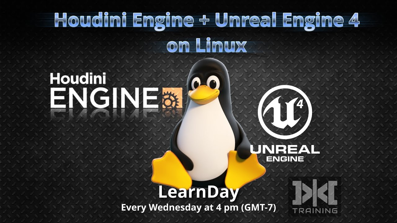 LearnDay - Setup Unreal Engine + Houdini Engine on Linux