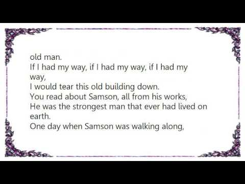 Grateful Dead - Samson  Delilah Lyrics