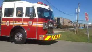 "Fort Wayne,Indiana FD ""new engine 6"" responding"