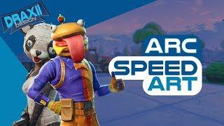 Fortnite Banner Speedart - Arc