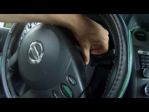 Altima Dash Instrument Cluster Removal Tutorial 2008-2013